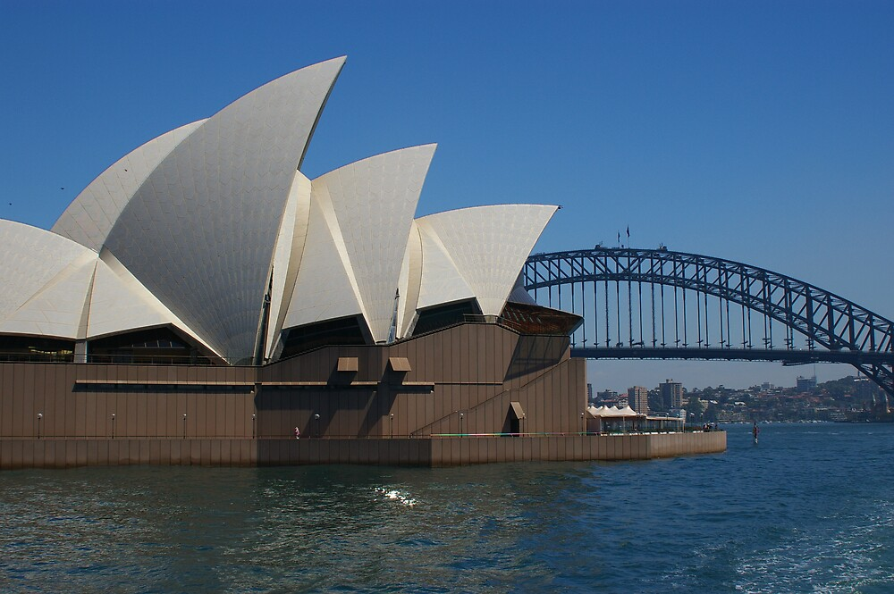 Opera Sails and the Harbour Bridge by Acrocat