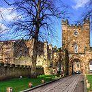 Durham Castle Gate by Tom Gomez