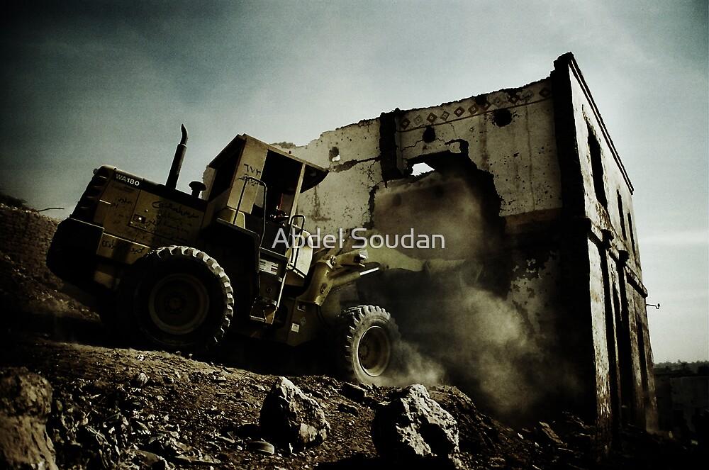 Destruction by Abdel Soudan