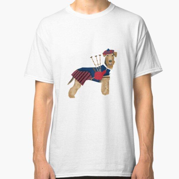 Cornemuse joueur evolution of man Kids T-shirt Tee Top Cadeau Musicien