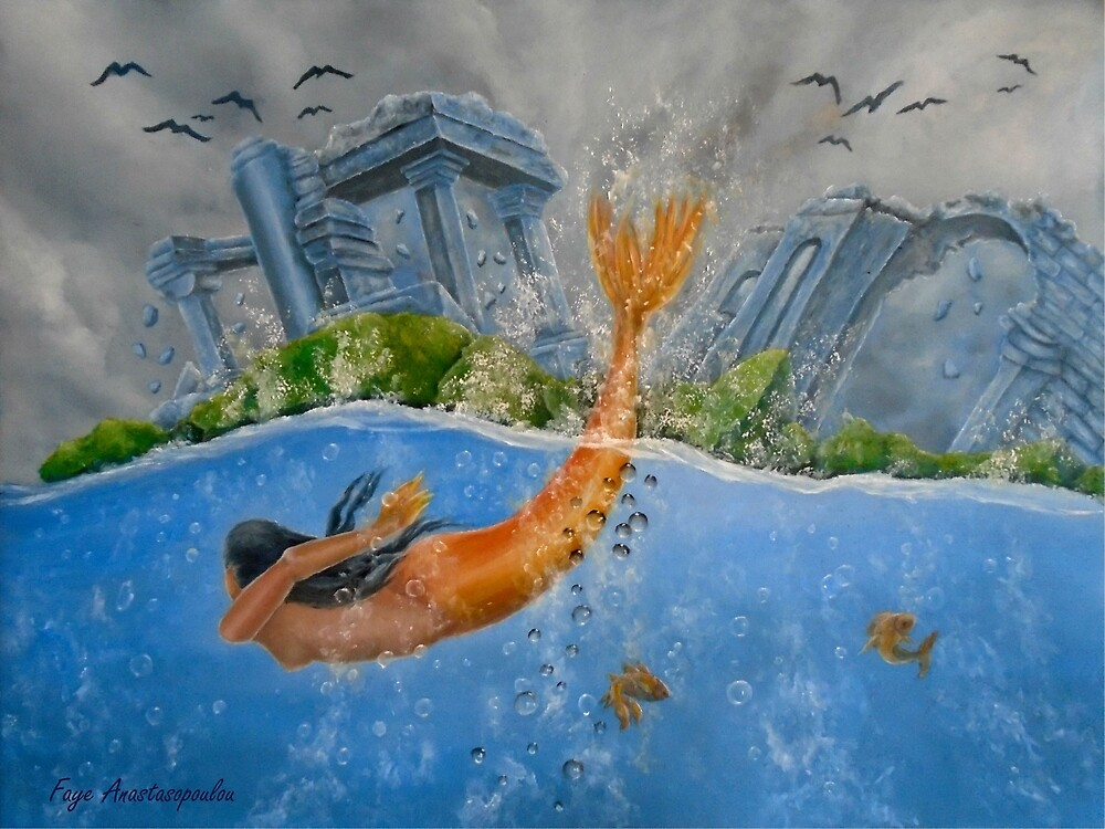 The Menace of the Deep by Faye Anastasopoulou