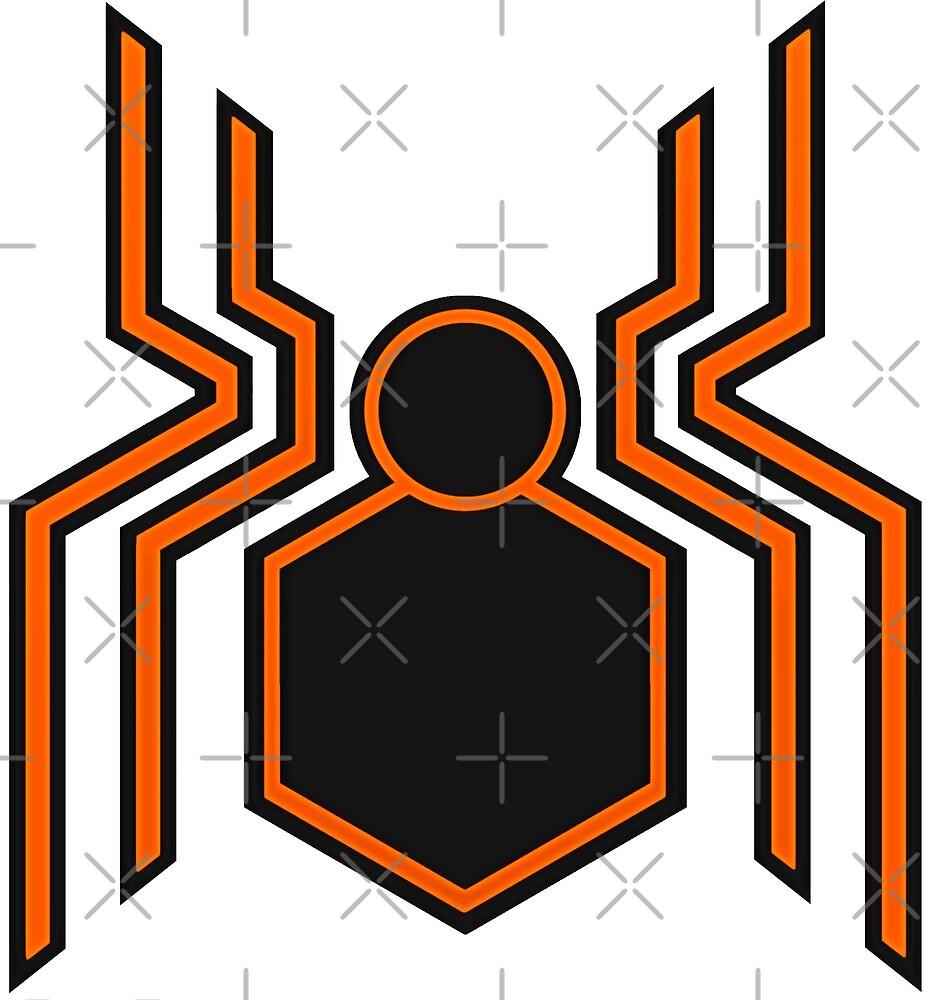 Stealth Spider Orange by KalEl7