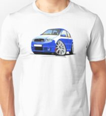 Skoda Fabia vRS Race Blue T-Shirt