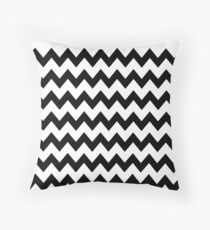 Twin Peaks - Black lodge Throw Pillow