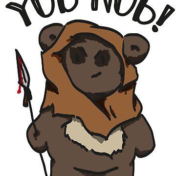 Yub Nub Teddy by nielsrevers