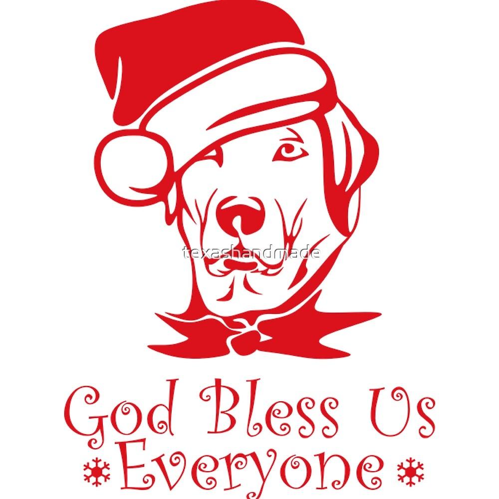 Labrador Christmas for Dog Lovers by texashandmade
