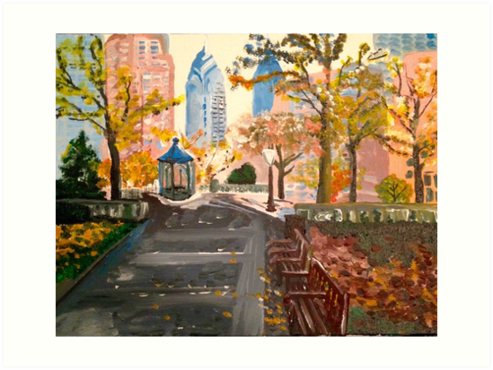 Rittenhouse Square by Lauren Ravitch
