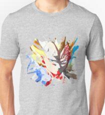 Dragon Ball Vegeta Splash Paint T-Shirt