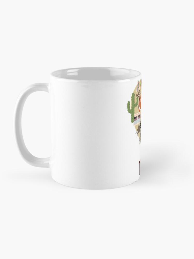 Alternate view of I Love Texas Southern Merch Mug