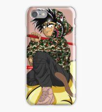 goku bape don c jordan 2 iPhone Case/Skin