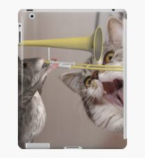 Musical Mouse Playing Trombone iPad Case/Skin