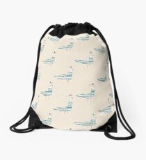 Seagulls Drawstring Bag