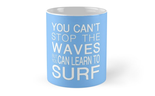 Learn To Surf by MightyFineGoods