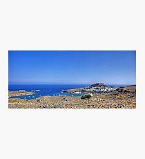 Lindos Panorama Photographic Print