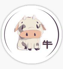 Cowwie 牛 Sticker