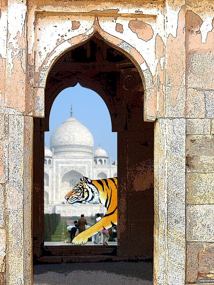 Tiger at the Gate by Keith Russell