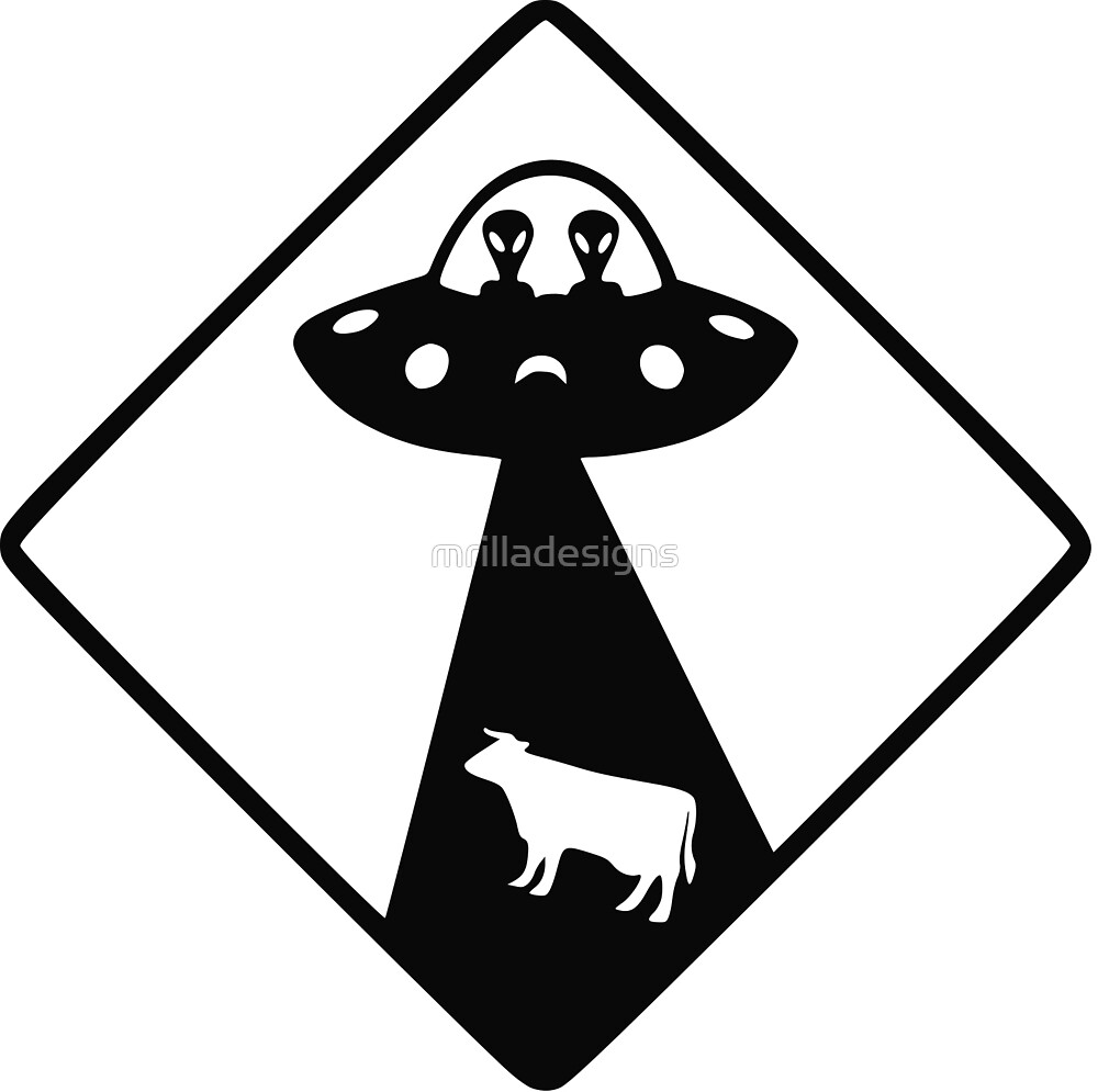 ufo cow abduction cases by mrilladesigns