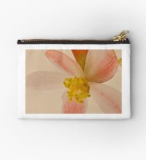Rex Begonia Blossom Macro Studio Pouch