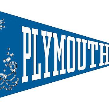 Plymouth Pennant by Brynjaminjones