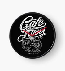 Cafe Racer, Motorcycle, Ride Forever Clock