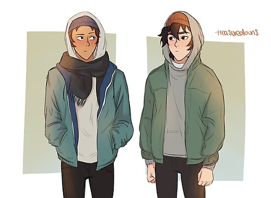 Klance - Evak crossover by treasuredbuns