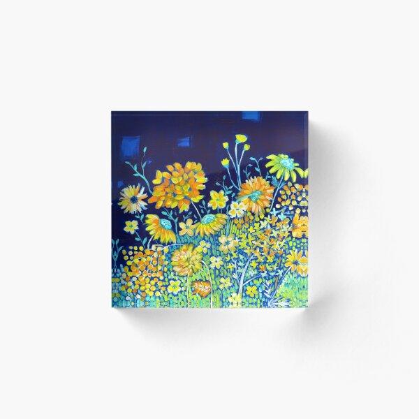 Spring Night Acrylic Block