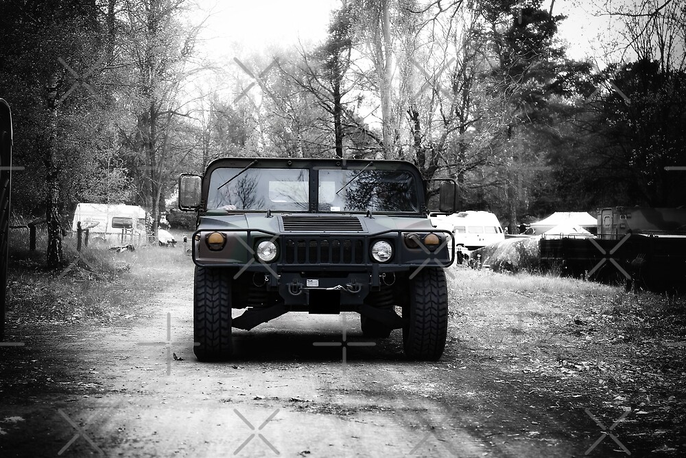 military hummer by hottehue