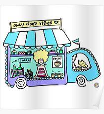 Happy Food Truck! Poster