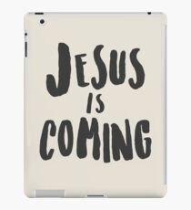 Jesus Is Coming iPad Case/Skin