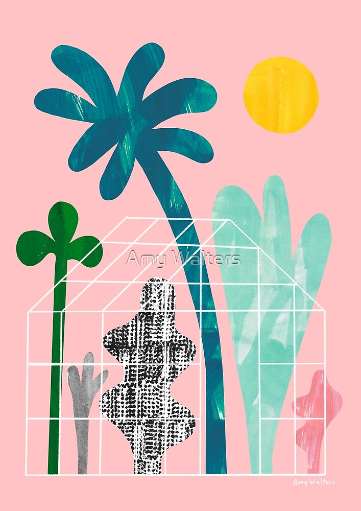 Collage Greenhouse by Amy Walters