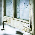 vintage wooden window closeup by wildrain