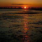 Sunset Bridge by Jonicool