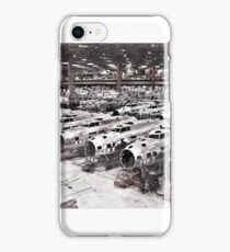 B-17 Aircraft Factory WW2  iPhone Case/Skin