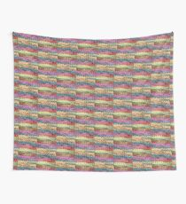 Knitted colours. Wall Tapestry