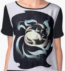 Galactic Kitsune Chiffon Top