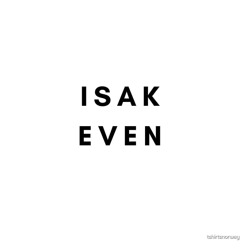 Isak + Even t-skjorte by tshirtsnorway