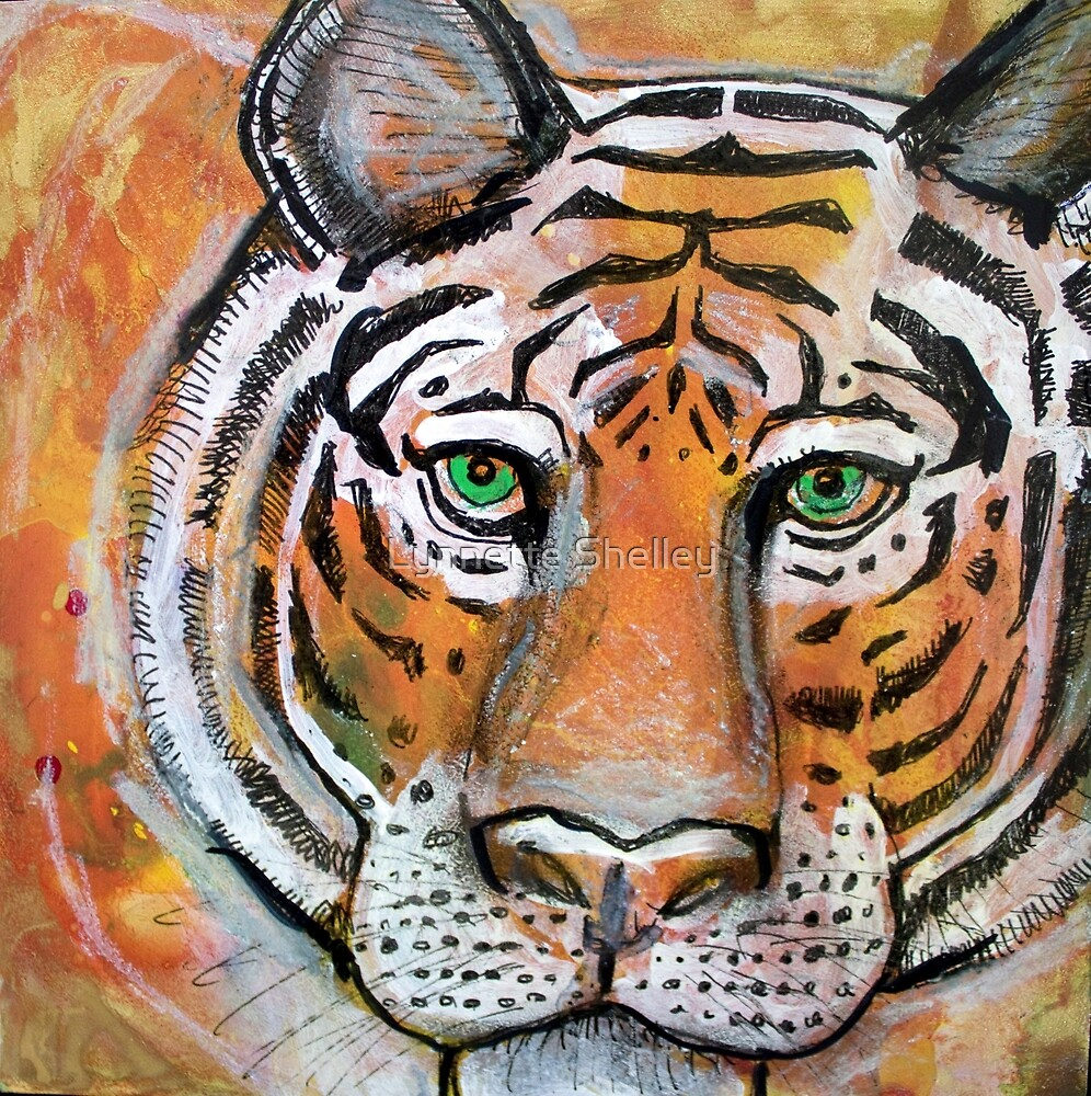 Tiger, Tiger, Burning Bright by Lynnette Shelley