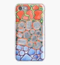 Summer Heat over Refreshing Water Pattern iPhone Case/Skin