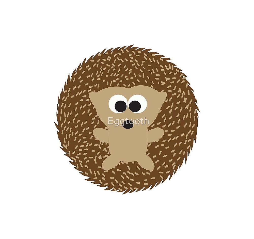 Cute Round Hedgehog by Eggtooth