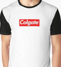Colgate (Supreme Parody) Graphic T-Shirt