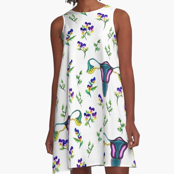 Purple life  A-Line Dress