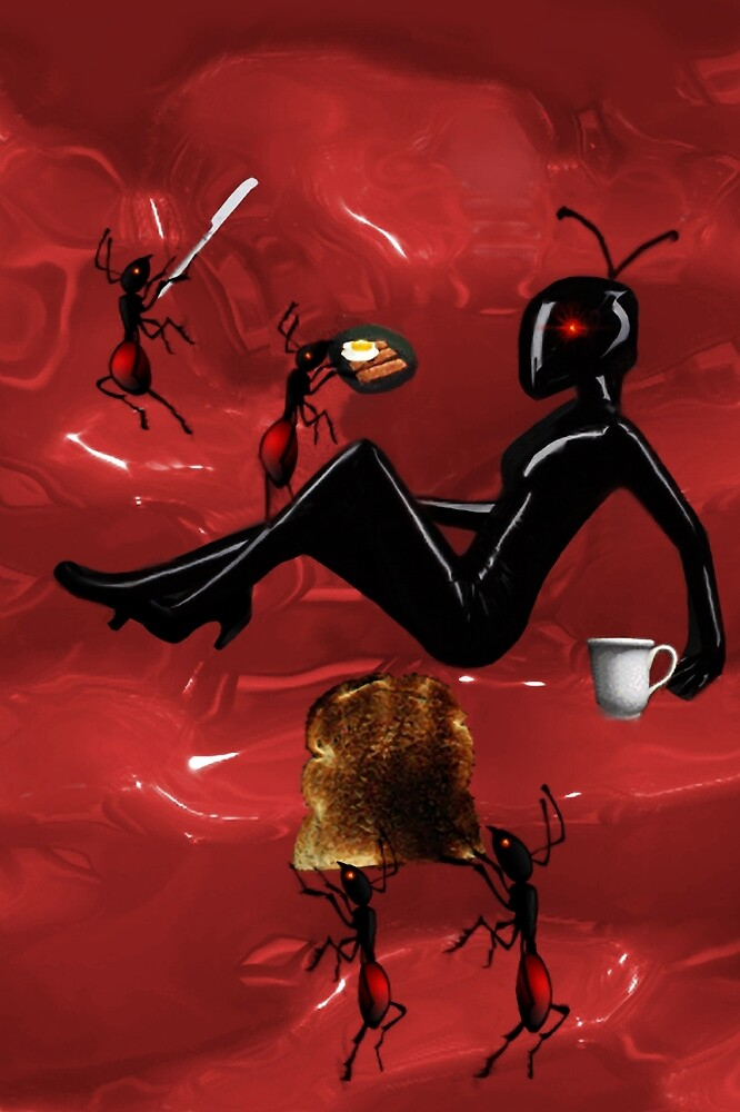 ✿♥‿♥✿WORKER ANTS PREPARING BREAKFAST FOR QUEEN ANT CARD/PICTURE ✿♥‿♥✿ by ✿✿ Bonita ✿✿ ђєℓℓσ