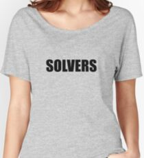 Solvers Women's Relaxed Fit T-Shirt