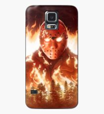 Jason In Flames Case/Skin for Samsung Galaxy