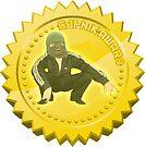 Gopnik Award sticker NEW by lifeofboris