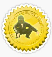 Gopnik Award sticker NEW Sticker