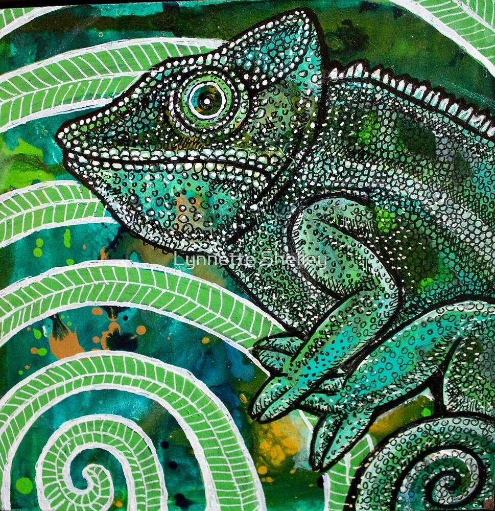 HIdden Chameleon by Lynnette Shelley