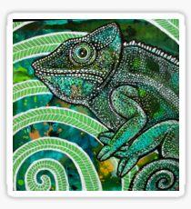 HIdden Chameleon Sticker