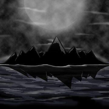 black ocean  by BCartwork