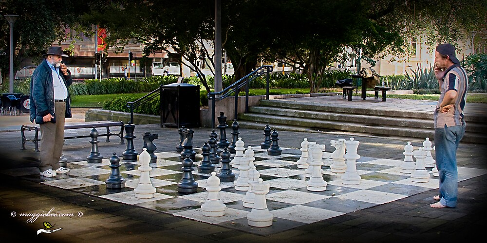 Chess In The City by Maggiebee